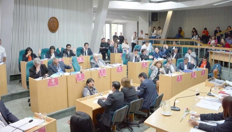 Los diputados sesionaron por primera vez en el año. (Foto: C.R.).
