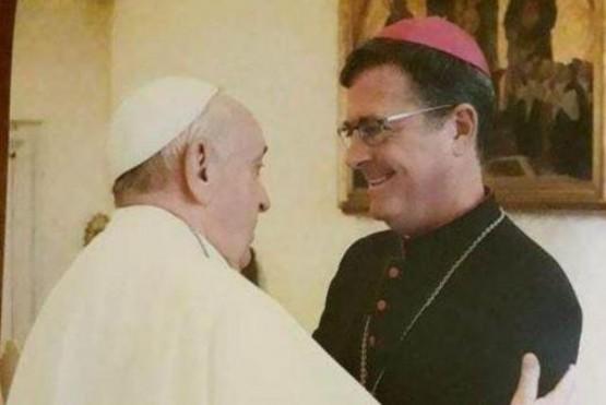 Papa Francisco y García Cuerva.