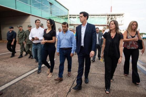 El Presidente envió a los ministros de Pedro y Frederic a verificar la situación de los pasos fronterizos