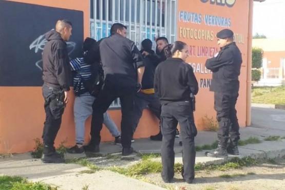 Momento de la detención (Foto: C.Robledo).