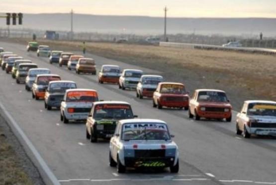 El Automóvil Club Río Gallegos suspendió todo.