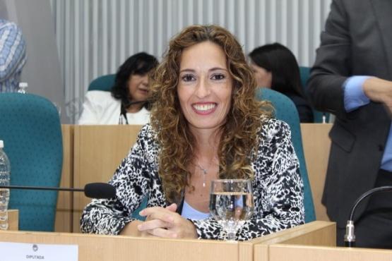 Rocío García destacó que el proyecto se aprobara de forma unánime. (Archivo).