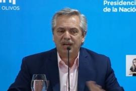 El Presidente anunció la suspensión de clases y el cierre de fronteras
