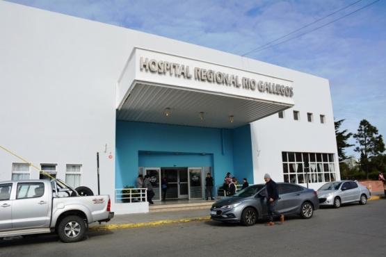 Hospital de Río Gallegos (Foto C.Robledo).