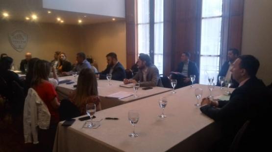 El intendente Maderna se reunió con todos los concejales
