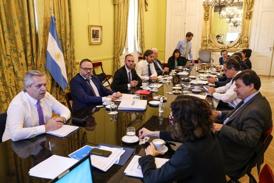 El Presidente habló con sus pares de la región por videoconferencia