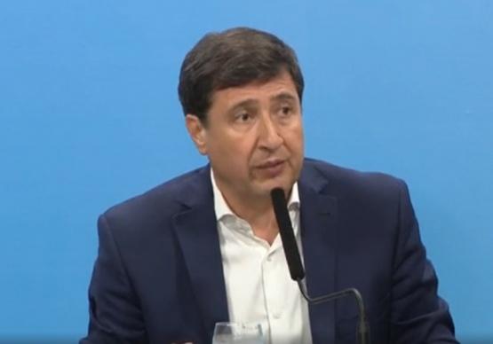 El ministro de Desarrollo Social,Daniel Arroyo