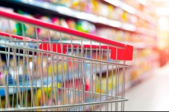 Góndola de supermercado (foto ilustrativa).