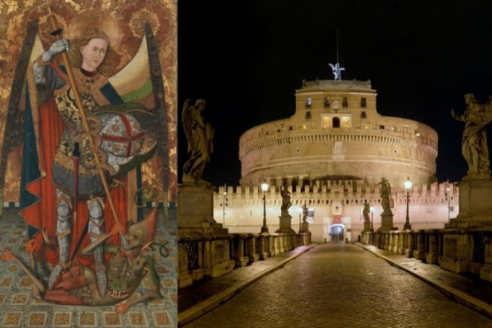 La fantástica historia de cómo San Miguel Arcángel salvó a Roma de una peste