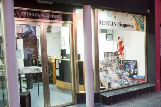 El local comercial que fue blanco de los delincuentes. (Foto: C.G.)
