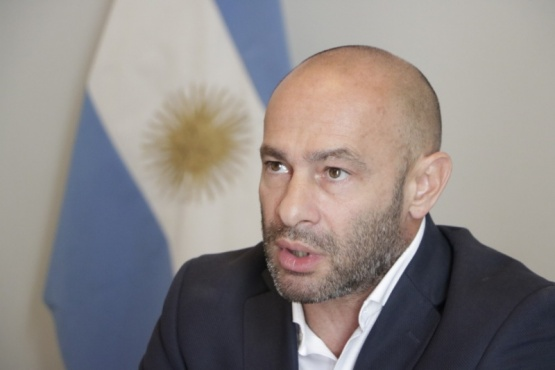 El ministro de Seguridad de la Provincia, Federico Massoni,
