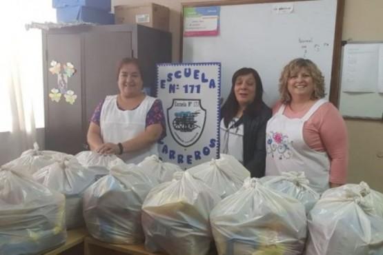 Niños de educación especial recibirán bolsones de alimentos en sus casas