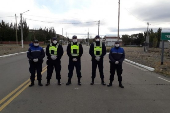 Policía inició controles preventivos en las rutas Nº 40 y Nº 288