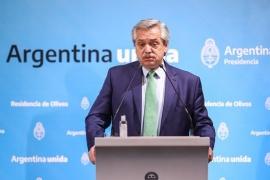 Alberto Fernández decretó cuarentena nacional