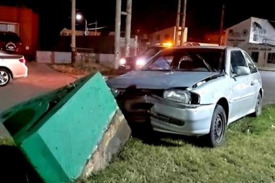Uno de los últimos accidentes en la Avenida Perón.