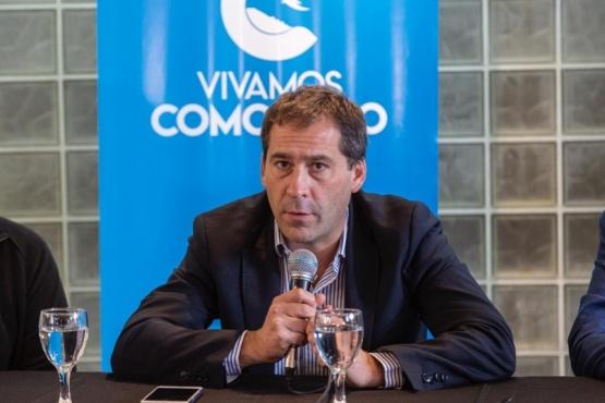 el intendente Juan Pablo Luque