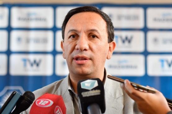 El intendente de la ciudad de Trelew, Adrián Maderna