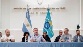 """Mariano Arcioni: """"El 90 por ciento de la población de Chubut está cumpliendo"""""""