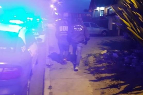 El joven fue detenido tras los allanamientos