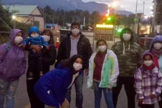 Repatriaron a chubutenses varados en Chile