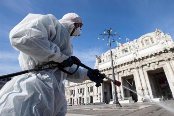 Se registraron 793 muertes en un día en Italia