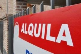 Inquilinos esperan una medida ante renovación de alquileres en abril