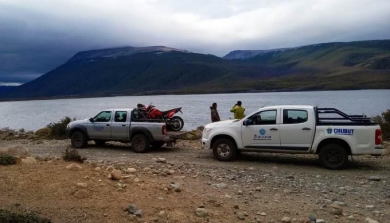 Controles en ríos y lagos de Chubut.