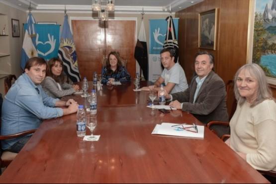 El encuentro encabezado por la Gobernadora fue en Casa de Gobierno.