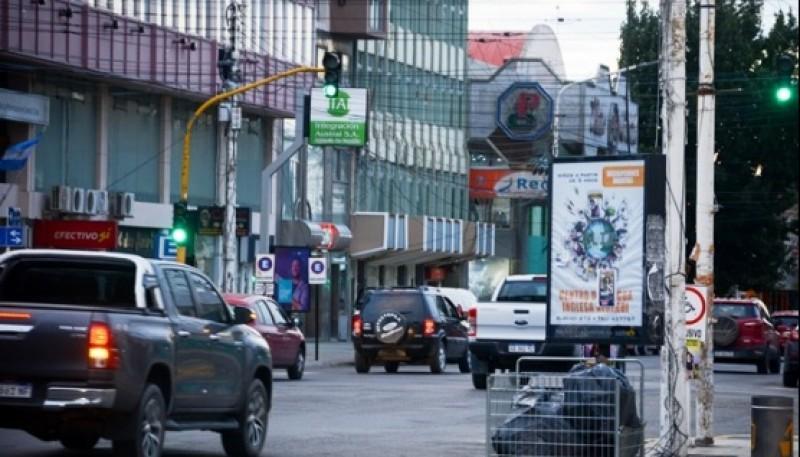 Centro comercial de Río Gallegos. (foto archivo)