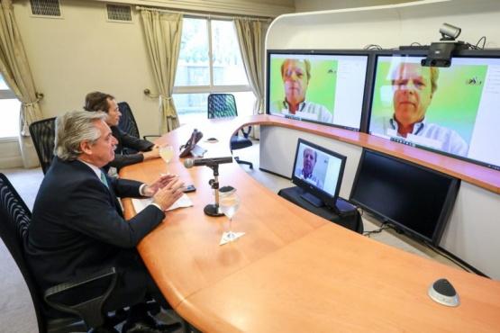 Alberto Fernández acordó apoyo presupuestario del Banco Mundial
