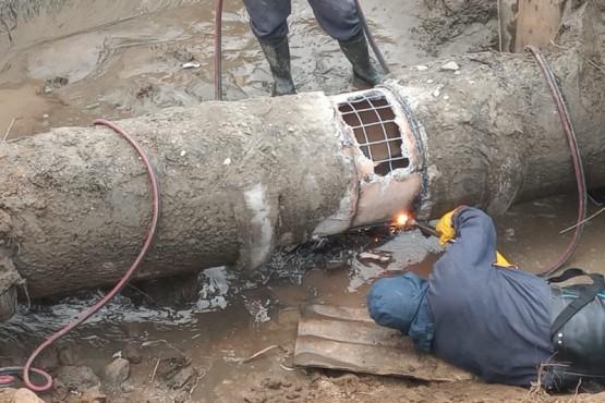 Se restableció el agua en Caleta Olivia