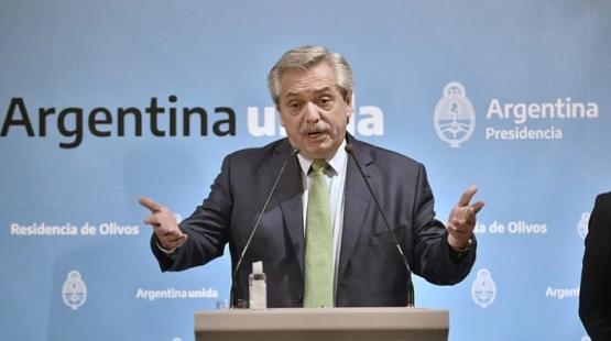 Fernández anunció nuevas medidas.