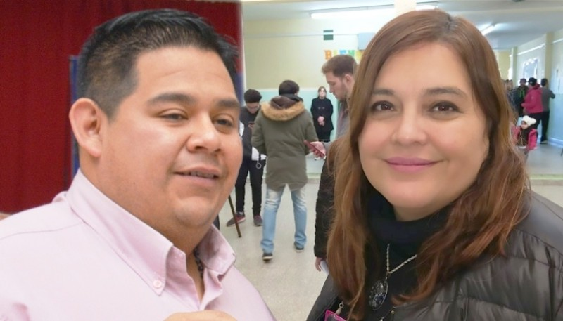 Daniela D´Amico y Emilio Maldonado