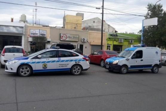 La policía y personal de la DDI investigan el hecho.