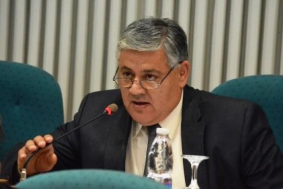 Carlos Santi, diputado provincial, autor del proyecto.