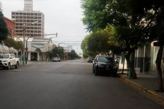 Calles vacías.