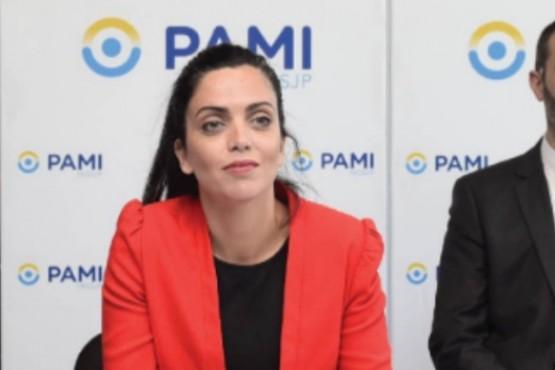 La titular de PAMI a nivel nacional, Luana Volnovich