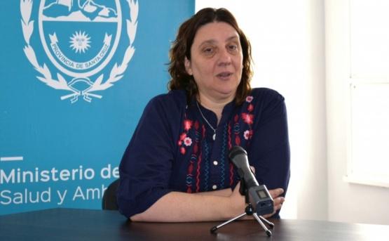 La Subsecretaría de Coordinación de Hospitales, Laura Beveraggi.