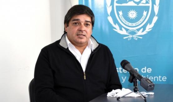 El subsecretario de Salud Colectiva del Ministerio de Salud y Ambiente