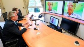 """Fernández propuso crear un """"fondo humanitario"""" al G20"""