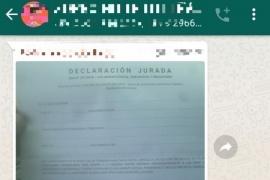 Ayudan a sacar permisos falsos en grupos de WhatsApp