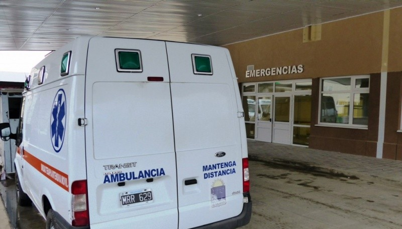 Emergencia del SAMIC (Foto Ahora Calafate)