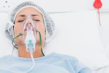 Entrega de respiradores.