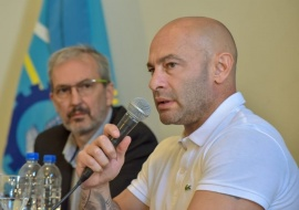 """Massoni: """"Hay un 95% de la ciudadanía que nos está acompañando"""""""