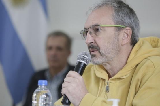 El ministro de Salud del Chubut, Fabián Puratich.