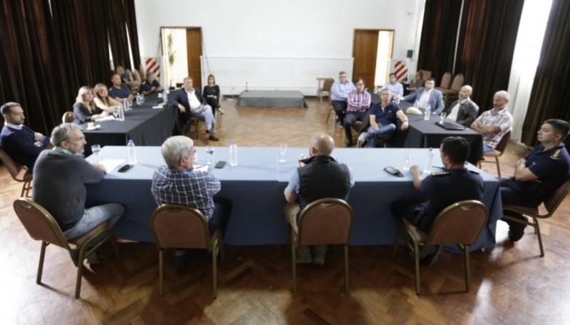 Provincia se reunión con la Justicia Federal y la Procuración de Chubut