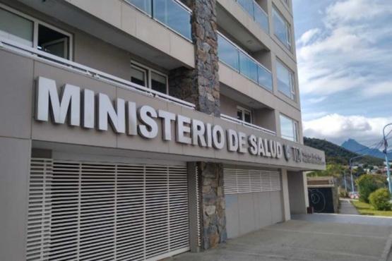 Fachada del Ministerio de Salud de Tierra del Fuego.