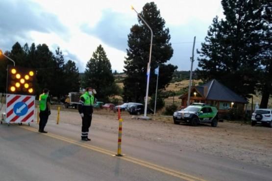 Seguridad Vial realiza controles especiales en accesos a Esquel
