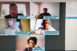 Sarmiento se suma a las audiencias por videoconferencia