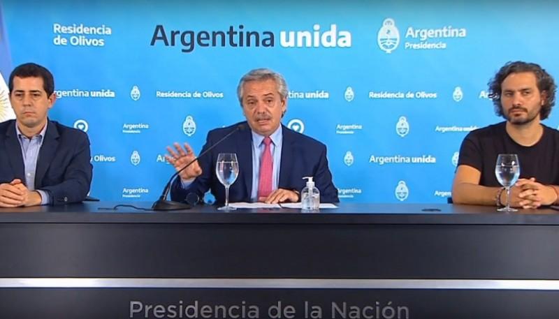 Presidente Alberto Fernàndez